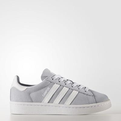 Adidas Campus Grey One/Footwear White/Footwear White (BY2376)