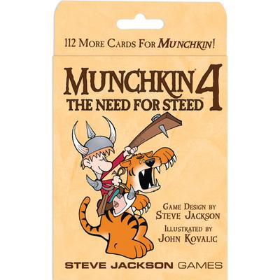 Munchkin 4: The Need for Steed (Engelska)