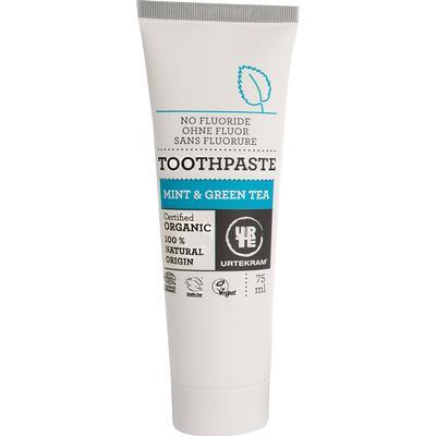 Urtekram Mint & Green Tea Toothpaste Organic 75ml