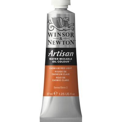 Winsor & Newton Artisan Water Mixable Oil Color Cadmium Red Light 100 37ml