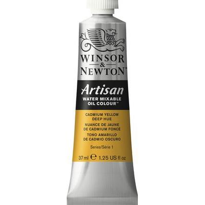Winsor & Newton Artisan Water Mixable Oil Color Cadmium Yellow Deep Hue 115 37ml