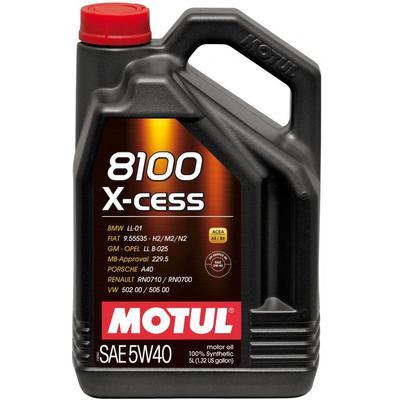 Motul Motul 8100 X-cess 5W-40 5 Liter Kanister Motorolie