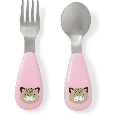 Skip Hop Zootensils Fork & Spoon London Leopard