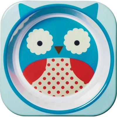 Skip Hop Zoo Little Kid Bowl Otis Owl