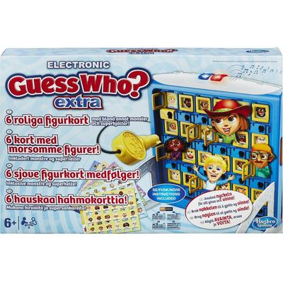 Hasbro Electronic Guess Who? Extra