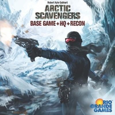 Rio Grande Games Arctic Scavengers: Base Game+HQ+Recon