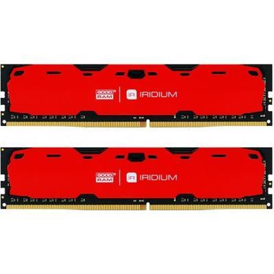 GOODRAM Iridium Red DDR4 2400MHz 2x8GB (IR-R2400D464L15S/16GDC)