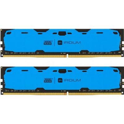 GOODRAM Iridium Blue DDR4 2400MHz 2x4GB (IR-B2400D464L15S/8GDC)