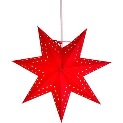 Star Trading Paper Star Bobo 34cm Julbelysning
