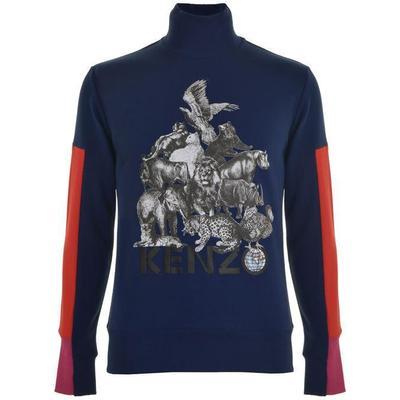 Kenzo Animals Sweatshirt Ink (F765SW1684OB.78.L)