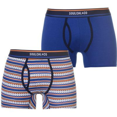 SoulCal Patterned Boxers 2-pack Blue (42222718)