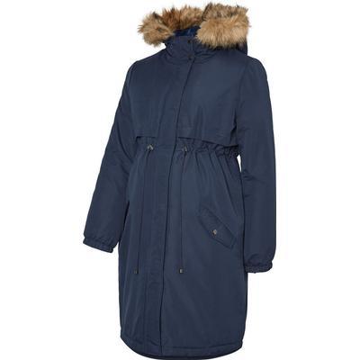 f0656c84f Mama.licious Padded Maternity Coat Blue/Navy Blazer (20007515)