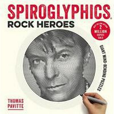 Spiroglyphics: rock heroes - colour and reveal your musical heroes in these (Pocket, 2017)