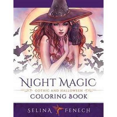 Night Magic - Gothic and Halloween Coloring Book (Häftad, 2016)