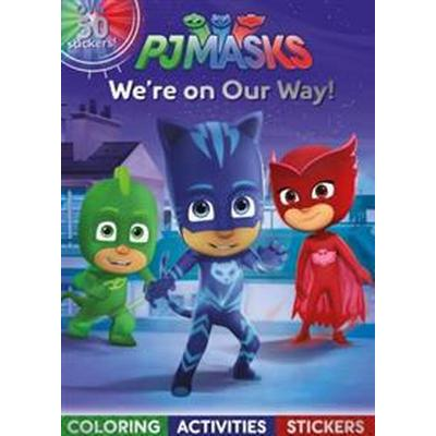 PJ Masks We're on Our Way!: Coloring, Activities, Stickers (Häftad, 2017)