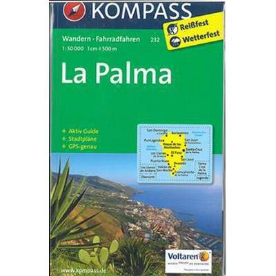 La Palma 1: 50 000 (Karta, 2017)