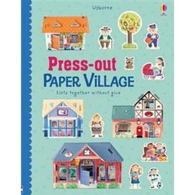 Press-Out Paper Village (Inbunden, 2017)