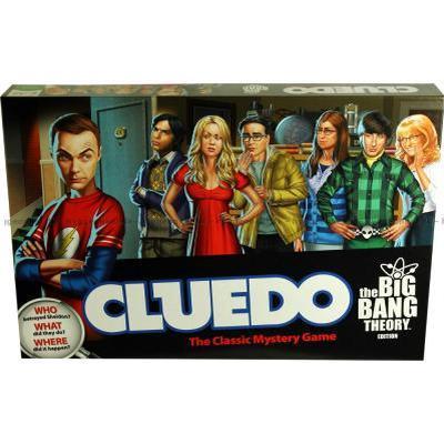 Cluedo: The Big Bang Theory (Engelska)