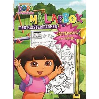 Dora utforskaren: målarbok med klistermärken (Häftad, 2017)
