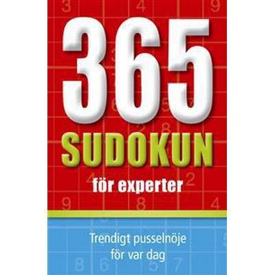 365 sudokun för experter (Häftad, 2016)