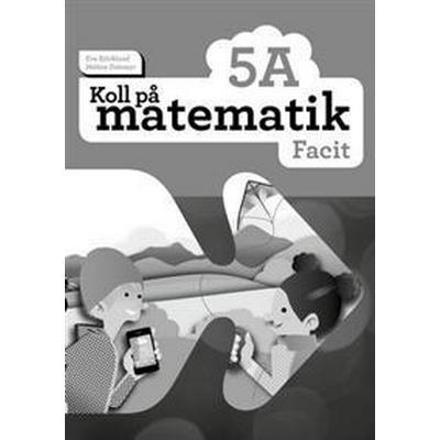 Koll på matematik 5A Facit (5-pack) (Häftad, 2016)