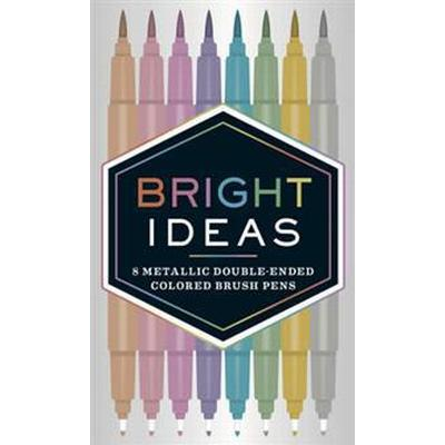 Bright Ideas Metallic Double-ended Colored Brush Pens (Övrigt format, 2017)