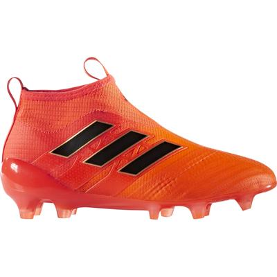 Adidas ACE 17+ Purecontrol Firm Ground Boots - Solar Orange/Core Black/Red (BY2187)