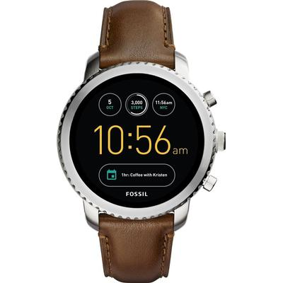 Fossil Gen 3 Q Explorist Luggage Leather