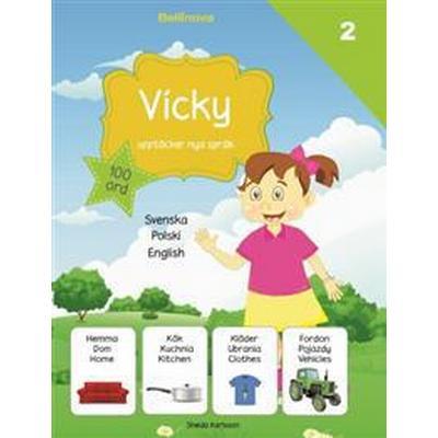 Vicky upptäcker nya språk: polska (Inbunden, 2017)