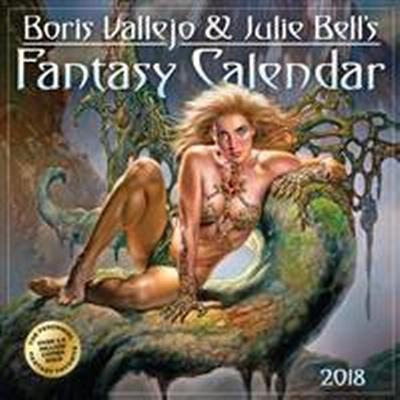 Boris Vallejo & Julie Bell's Fantasy Wall Calendar 2018 (Övrigt format, 2017)