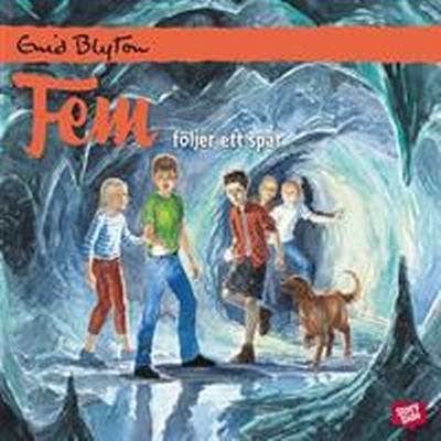 Fem följer ett spår (Ljudbok nedladdning, 2016)
