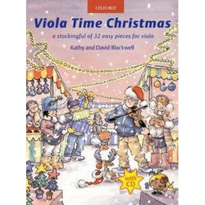 Viola Time Christmas + CD (Övrigt format, 2010)