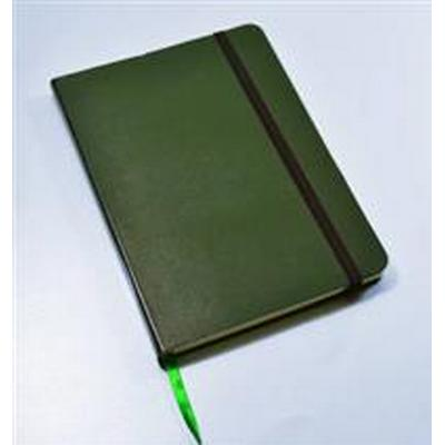 Monsieur Notebook Green Leather Plain Medium (Inbunden, 2014)