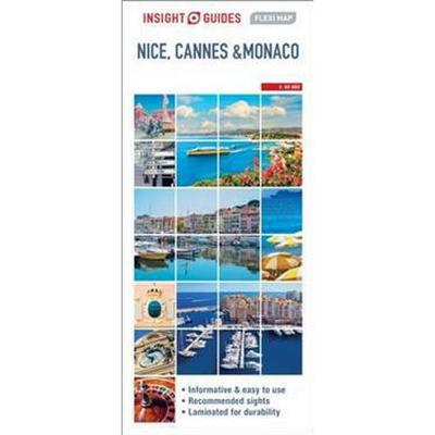 Insight Flexi Map Nice, Cannes and Monaco (Pocket, 2017)
