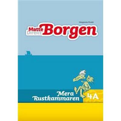 Matte Direkt Borgen Mera Rustkammaren 4A (5-pack) (Häftad, 2013)