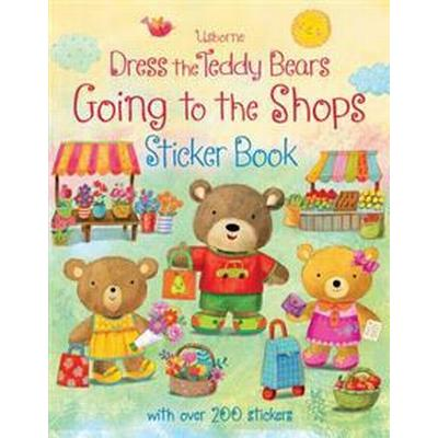 Dress the teddy bears going to the shops sticker book (Pocket, 2015)