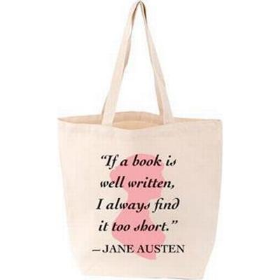 Lovelit Tote Jane Austen Quote (Övrigt format, 2016)