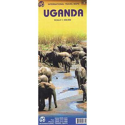 Uganda Travel Reference Map (Pocket, 2011)