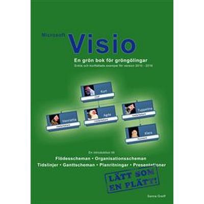 Microsoft Visio - En grön bok för gröngölingar: För version 2010 - 2016 (E-bok, 2016)