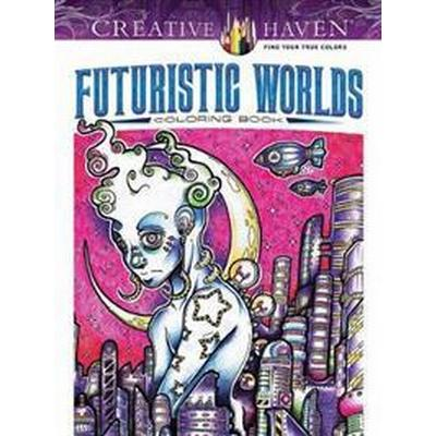 Futuristic Worlds Coloring Book (Pocket, 2017)