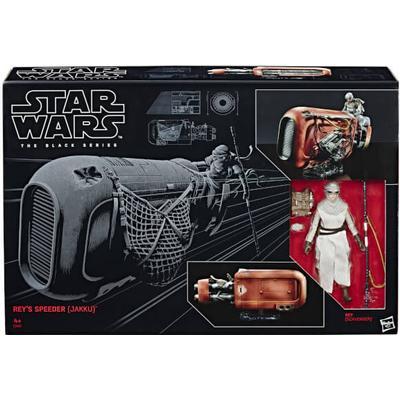 Hasbro Star Wars the Black Series Rey's Speeder Jakku & Figure C1427