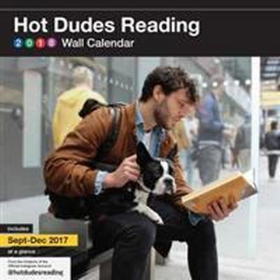 Hot Dudes Reading 2018 Calendar (Övrigt format, 2017)