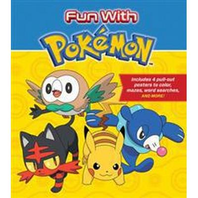 Fun with Pokemon: Includes 4 Pull-Out Posters to Color, Mazes, Word Searches, and More! (Häftad, 2017)