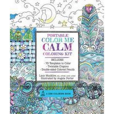 Portable Color Me Calm Coloring Kit (Pocket, 2016)