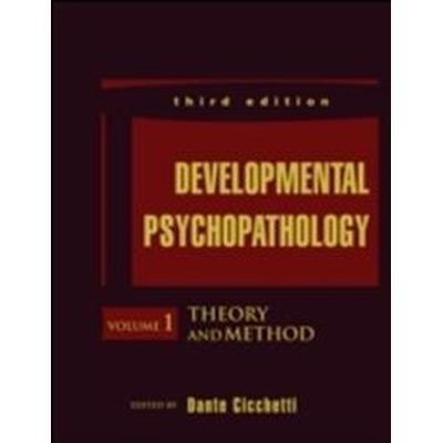 Developmental Psychopathology, Theory and Method (Inbunden, 2016)