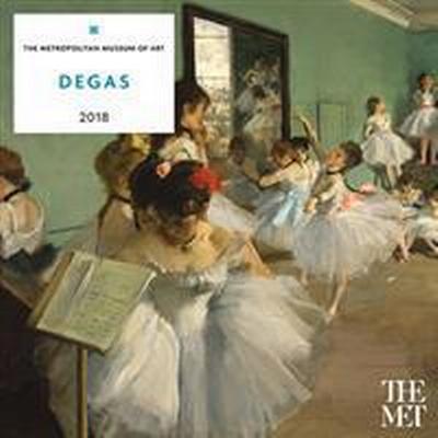 Degas 2018 Calendar (Övrigt format, 2017)