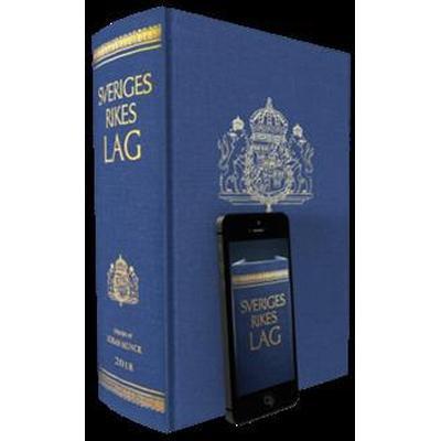 Sveriges Rikes Lag 2018 (klotband): När du köper Sveriges Rikes Lag 2018 får du även tillgång till lagboken som app med riktig lagbokskänsla. (Inbunden, 2018)