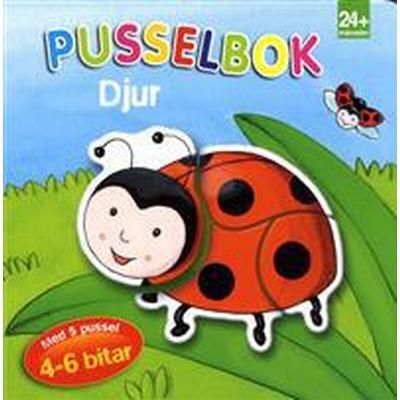 Pusselbok djur (Board book, 2017)