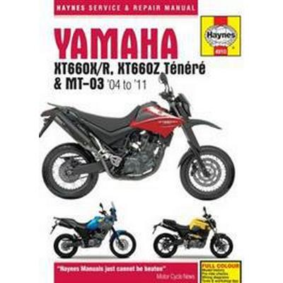 Yamaha XT660MT-03 Service and Repair Manual 2004-2011 (Häftad, 2016)