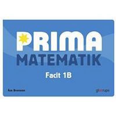 Prima Matematik 1B Facit 5-pack (Häftad, 2014)